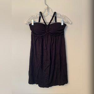 Forever 21 / Black Halter Dress